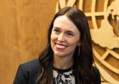 Novozelandska premierka Jacinda Ardern na skupščini ZN s trimesečno dojenčico