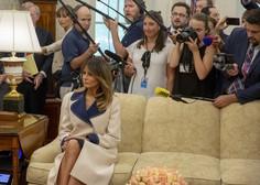 Predsednik Pahor in Melania Trump: Pogovarjala sta se v slovenščini