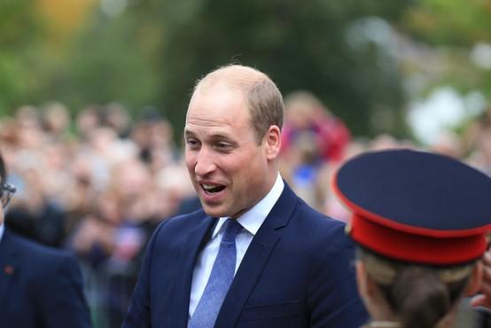 Ganljiva slika: Princ William pokazal, kdo mu pomeni največ
