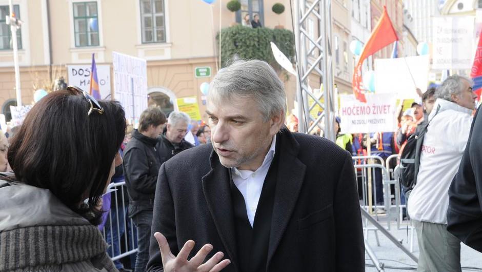 Sodišče Vladimirju Vodušku izreklo zaporno kazen zaradi poskusa izsiljevanja (foto: Sašo Radej)