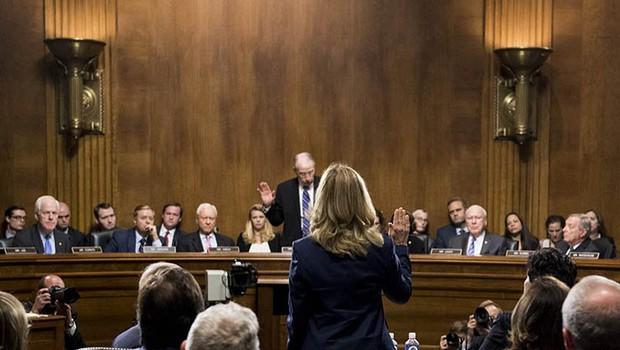 Žrtev Bretta Kavanaugha v senatu opisala spolni napad leta 1982 (foto: profimedia)