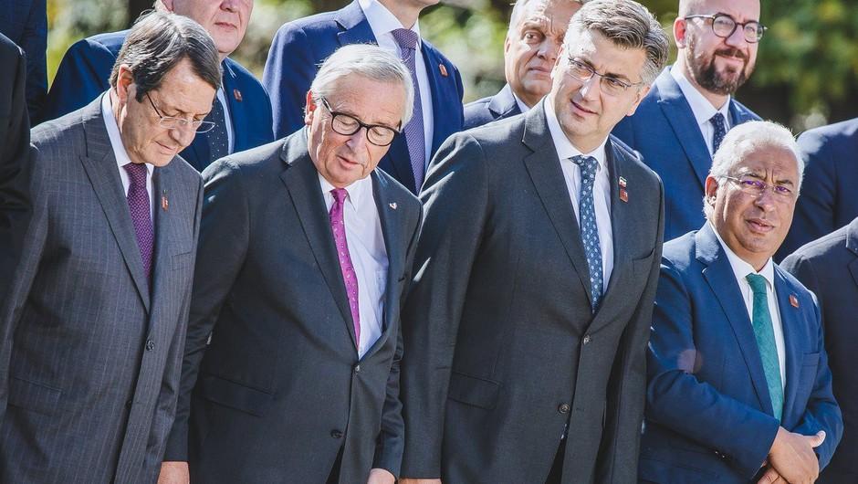 Štirje evropski poslanci iz Slovenije pisali Junckerju v zvezi z arbitražo (foto: profimedia)