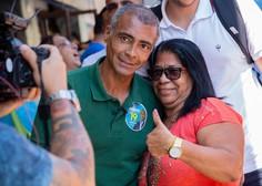 Slavni nogometni zvezdnik Romario v boj za guvernerja Ria de Janeira