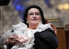 Poslovila se je operna pevka Montserrat Caballe