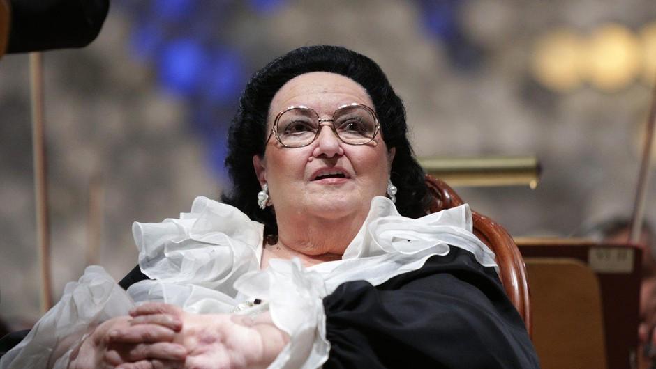 Poslovila se je operna pevka Montserrat Caballe (foto: profimedia)