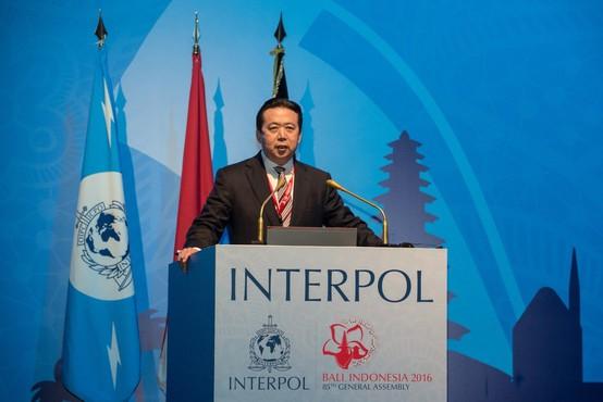 Odgovor na poizvedbo o predsedniku Interpola: Kitajci ga zaslišujejo