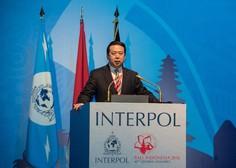 Peking trdi, da je šef Interpola prejemal podkupnino