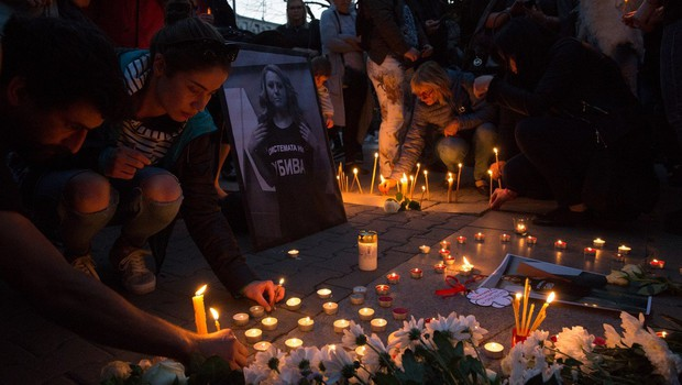 Za umor bolgarske novinarke že prijeli moškega (foto: profimedia)