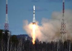 VIDEO: Izstrelitev Sojuza spodletela, astronavta varno pristala na Zemlji