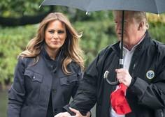 Trumpova obiskala območja, ki jih je prizadel orkan Michael