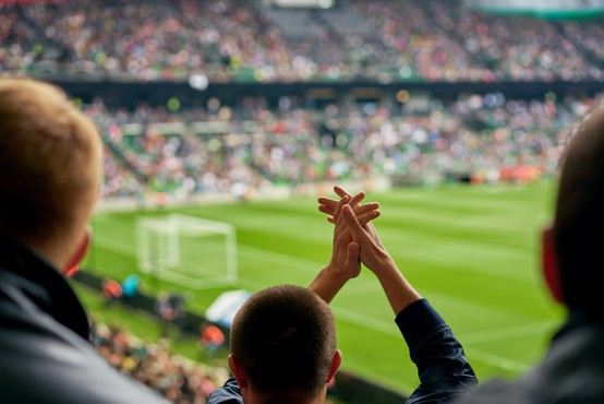 Zaporna kazen za nogometnega navijača, ki je s kozarcem piva zadel sodnika