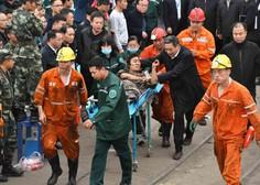 Na vzhodu Kitajske je zasulo več rudarjev, dva mrtva, 20 pogrešanih