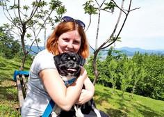 Prisrčna zgodba o Vanessi Arnšek in psu Bossu