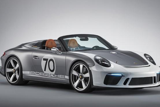 Porsche 911 speedster - nadaljevanje slavne tradicije