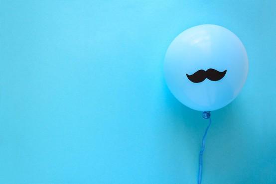 Movember: Puščanje brkov za ozaveščanje o boleznih moških