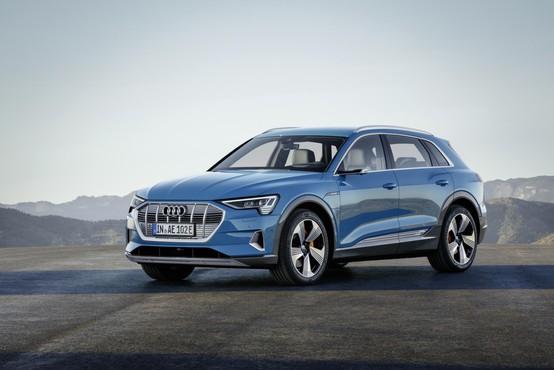 Audi e-tron: Prestižen, nemški in električen!