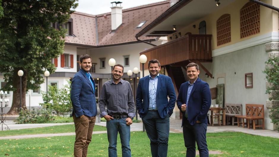 Štirje bratje Jezeršek: Luka, Martin, Jure in Rok (foto: Dean Dubokovič In Nejc Pernek)