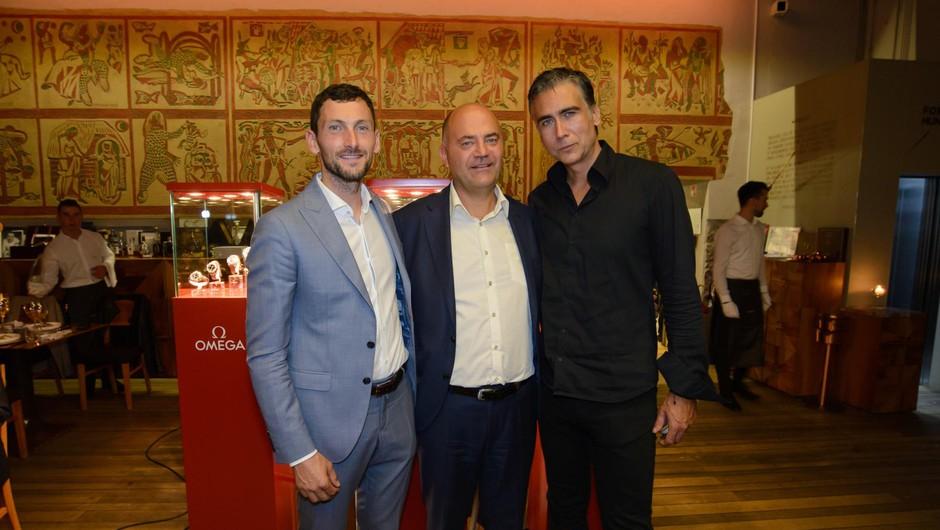 Jakov Fak, Matej Bregant, direktor podjetja Slowatch, Jan Plestenjak (foto: Foto Bojan Stepančič)
