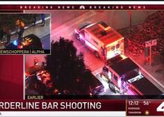 Mrtvi in ranjeni v streljanju na študentskem večeru v kalifornijskem baru Borderline!