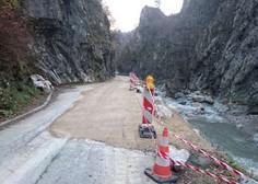 Na željo prebivalcev bo cesta do Jelendola odprta prej