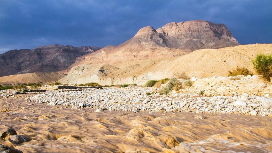 Poplave v Jordaniji terjale žrtve, iz Petre evakuirali 4000 turistov (foto: profimedia)