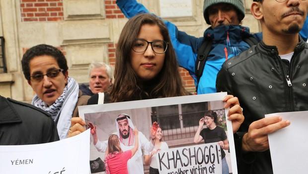 Zvočne posnetke o umoru novinarja Džamala Hašodžija iz Turčija v pet držav (foto: profimedia)