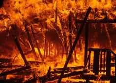 Požar v Kaliforniji povsem uničil kraj Paradise s 27.000 prebivalci