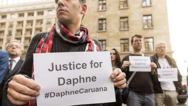 Malta: Identificirali naj bi naročnike umora novinarke (foto: STA)