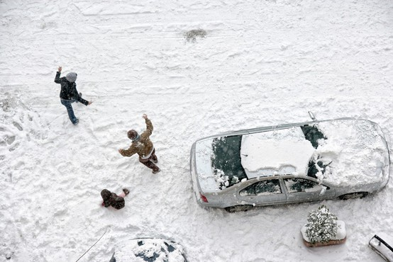 Največ snega so namerili v hribovitem svetu, na Vojskem 24 cm snega!