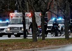 Streljanje v Chicagu posledica spora zaradi zaročnega prstana