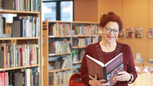 Alenka Bole Vrabec res ne ve, kaj je dolgčas (foto: Goran Antley)