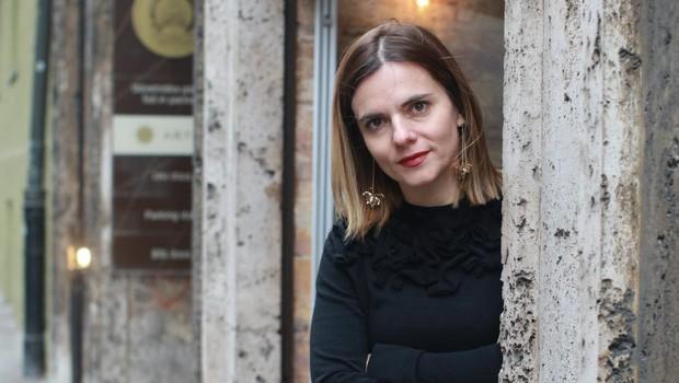 Valentina Smej Novak: Želimo si, da bi si Slovenci izmenjevali in kresali mnenja tudi o knjigah (foto: Goran Antley)