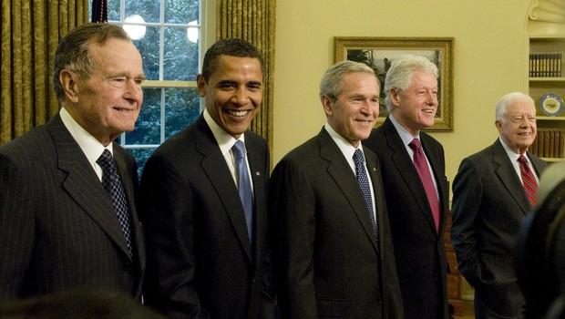 Umrl je 41. ameriški predsednik George Bush starejši (foto: profimedia)