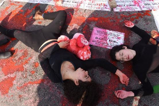 Izraelke protestirajo proti nasilju v družini