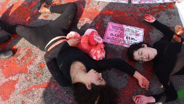 Izraelke protestirajo proti nasilju v družini (foto: profimedia)