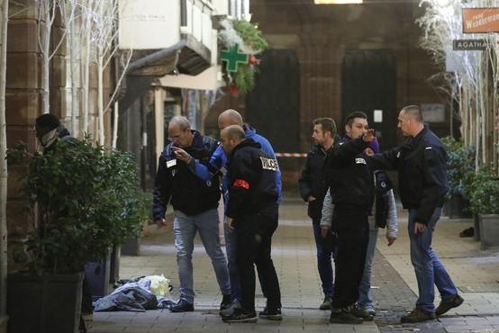 Napadalec v Strasbourgu, ki je ubil tri ljudi, naj bi kričal Alah je velik