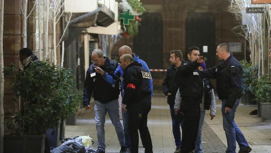 Napadalec v Strasbourgu, ki je ubil tri ljudi, naj bi kričal Alah je velik (foto: profimedia)