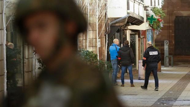 V streljanju v Strasbourgu po novih podatkih trije mrtvi, 13 ranjenih (foto: profimedia)