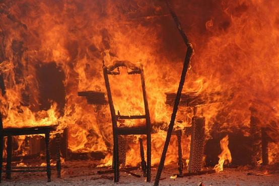Na Štajerskem izbruhnila dva požara, ki sta povzročila večjo gmotno škodo