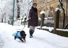 Na območju Sarajeva in Bijeljine ponekod zapadlo več kot pol metra snega