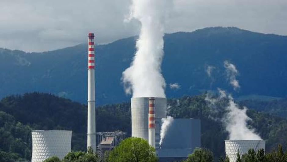 Ponoči požar v Termoelektrarni Šoštanj (foto: STA)