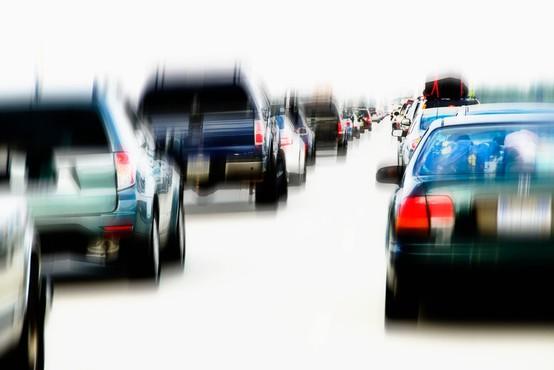 Cestni zastoji zagrenili začetek šolskih počitnic