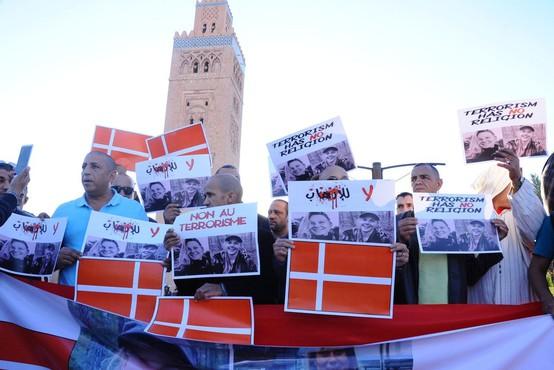 V Maroku so se poklonili ubitima skandinavskima turistkama
