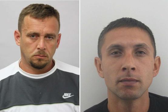 Policija preklicala informacijo o prijetju enega od pobeglih pripornikov, oba še vedno iščejo
