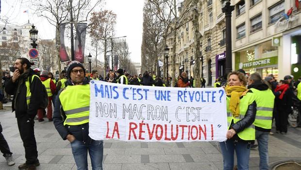 V Franciji na ulicah znova protesti (foto: Profimedia)