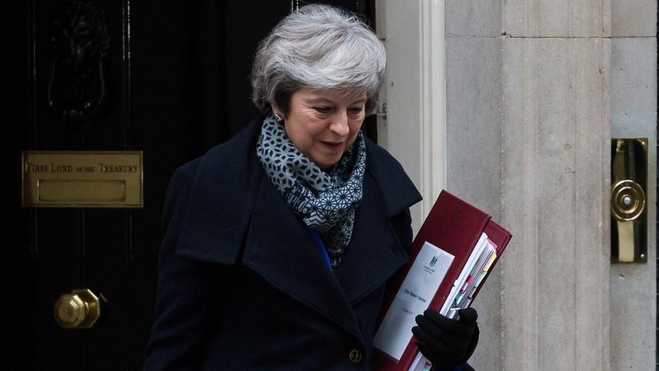 Britanski parlament premierki Theresi May ni izglasoval nezaupnice (foto: profimedia)