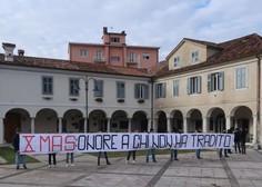 Shoda v Gorici sta minila brez izgredov, neofašistov je bilo le 30