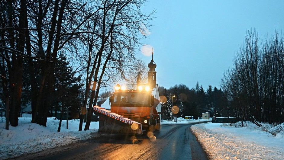 Slovenijo čaka zasnežena noč, sneg pa se lahko pojavi tudi na Obali! (foto: profimedia)