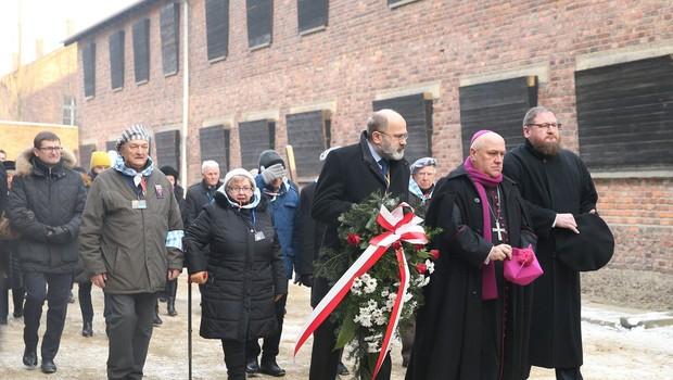 Opozorilo zgodovine ob mednarodnem dnevu spomina na žrtve holokavsta v Oswiecimu (foto: profimedia)