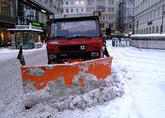 Zaradi zimskih razmer prometne težave v Avstriji